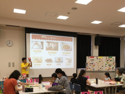 <満席>【7月26日(日)】おやつで学ぶ、親子食育教室