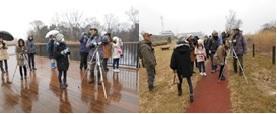【12月6日(日)】荒川生物生態園の冬鳥観察会